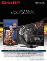 PN-K321 6.13.indd - Sharp Electronics