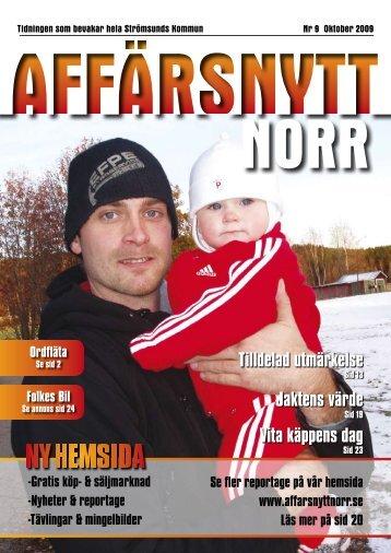 Oktober 2009 - Affärsnytt Norr