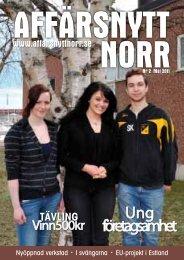 Maj 2011 - Affärsnytt Norr