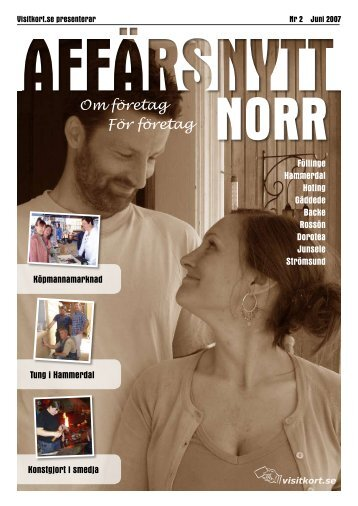 Juni 2007 - Affärsnytt Norr
