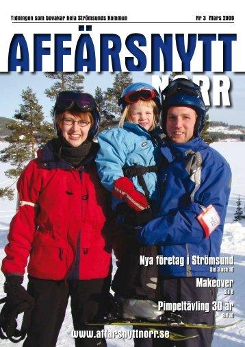 Mars 2009 - Affärsnytt Norr