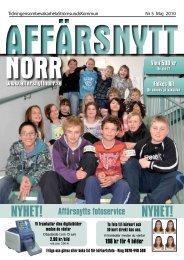 Maj 2010 - Affärsnytt Norr