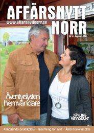 Augusti 2011 - Affärsnytt Norr