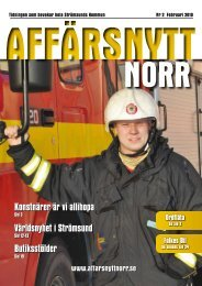 Februari 2010 - Affärsnytt Norr