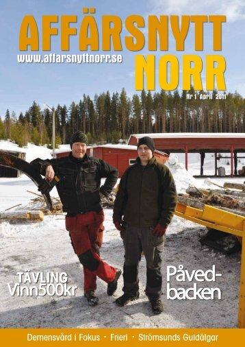 På ved- backen - Affärsnytt Norr