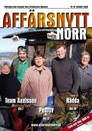 Oktober 2008 - Affärsnytt Norr