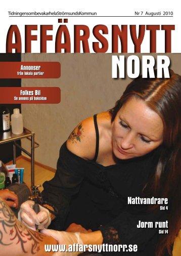 Augusti 2010 - Affärsnytt Norr