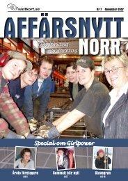 November 2007 - Affärsnytt Norr