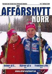 Februari 2009 - Affärsnytt Norr