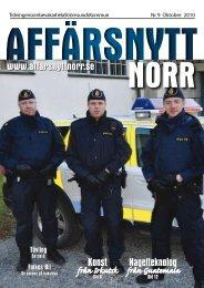 Oktober 2010 - Affärsnytt Norr