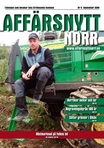 September 2008 - Affärsnytt Norr
