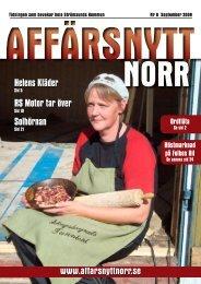 September 2009 - Affärsnytt Norr
