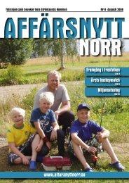 Augusti 2008 - Affärsnytt Norr