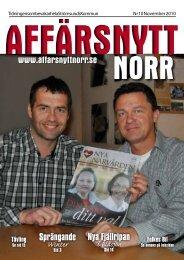 November 2010 - Affärsnytt Norr