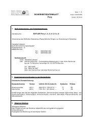 SDB EUFLOR Flory 1-6+8