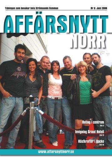 Juni 2008 - Affärsnytt Norr