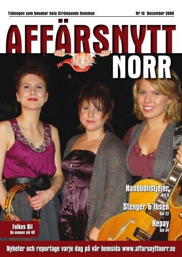 December 2009 - Affärsnytt Norr