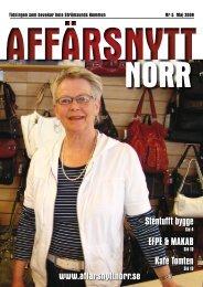 Maj 2009 - Affärsnytt Norr