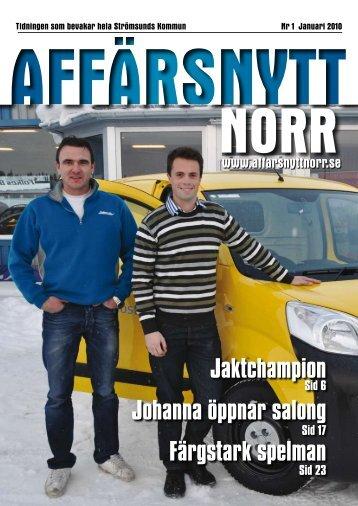 Januari 2010 - Affärsnytt Norr