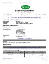 Sicherheitsdatenblatt - Raiffeisen