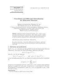 Convolution and Differential Subordination for Multivalent Functions