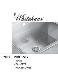 Whitehaus 2012 Catalog - RKB provides superior customer service ...