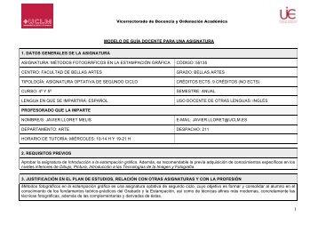 Métodos fotográficos en la estampación gráfica - Facultad de Bellas ...