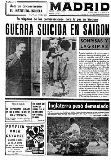 Madrid 19680509 - Home. Fundación Diario Madrid