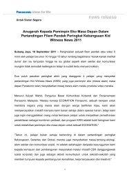 Anugerah Kepada Pemimpin Eko Masa Depan Dalam Pertandingan ...