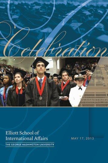MAY 17, 2013 - Elliott School of International Affairs - The George ...