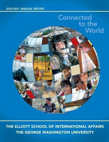 2010-11 Report - Elliott School of International Affairs - The George ...