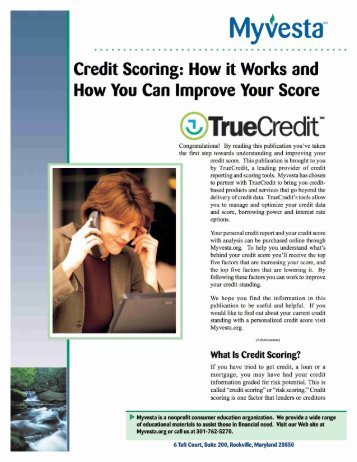 Credit Scoring - Get Out of Debt Guy