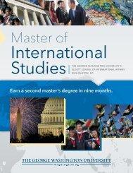 Download the MIS Program brochure - Elliott School of International ...