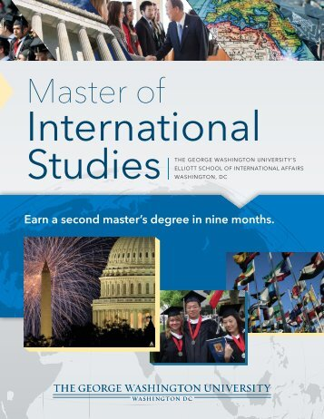 Download the MIS Program brochure - Elliott School of International ...