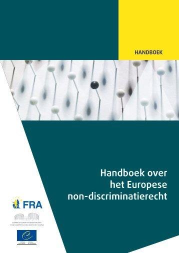 Handboek over het Europese non-discriminatierecht