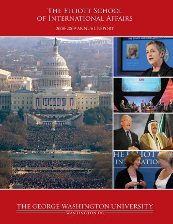 2008-09 Report - Elliott School of International Affairs - The George ...