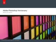 Adobe Photoshop Anniversary - Social Media Release