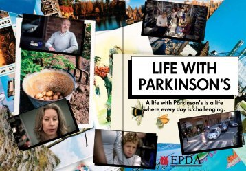 Life With Parkinson's Booklet - Front Cover - Social Media Release