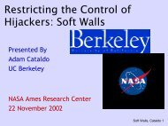 Current Research on Soft Walls