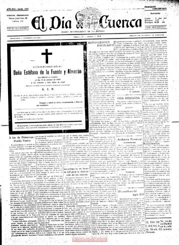 Page 1 AÑO XVL-NUNL 2107 Redacción, Administración Talleres ...