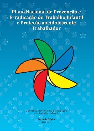 Plano Nacional de Prevenção e Erradicação do Trabalho Infantil e ...