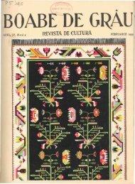 Page 1 BOABE DE GRAU' ANUL IV, N-rul 2 FEBRUARLE 1933 I ...