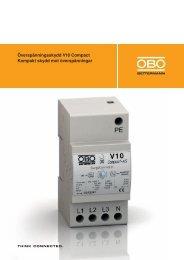 Överspänningsskydd V10 Compact Kompakt ... - OBO Bettermann