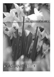 KASTANIENblatt - Kastanienbaum-Grundschule