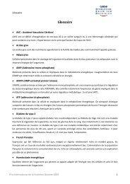 Glossaire - Social Media Release
