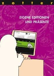 Katalog: Eigene Editionen und Geschenksets - Zotter