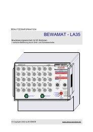 BEWAMAT - LA35 - ANDO Technik Gmbh