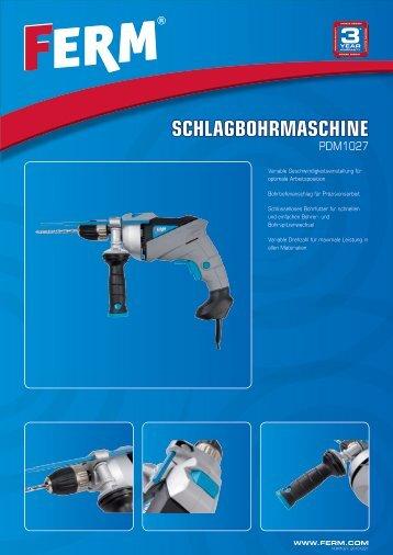 SCHLAGBOHRMASCHINE - FERM.com
