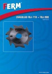 Zaagblad FbJ-710 + FbJ-900 - FERM.com