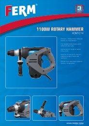 1100W ROTARY HAMMER - Tracon